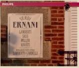 VERDI - Gardelli - Ernani, opéra en quatre actes