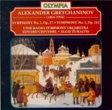 GRETCHANINOV - Chivzhel - Symphonie n°2 op.27