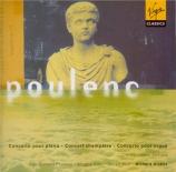 POULENC - Hickox - Concert champêtre, pour clavecin et orchestre FP.049
