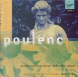POULENC - Hickox - Concerto pour deux pianos et orchestre en ré mineur F