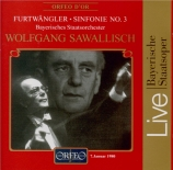 FURTWÄNGLER - Sawallisch - Symphonie n°3
