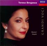 MOZART - Berganza - Ombra felice...Io ti lascio, récitatif et air (rondo