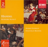 HAENDEL - Richter - Suite pour clavier n°1 en la majeur vol.1 n°1 HWV.42