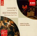 HAENDEL - Richter - Suite pour clavier n°11 en ré mineur vol.2 n°3 HWV.4