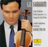 PROKOFIEV - Shaham - Concerto pour violon n°1 en ré majeur op.19