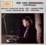 MOZART - Immerseel - Sonate pour piano n°15 en do majeur K.545
