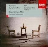 PÄRT - Welser-Möst - Symphonie n°3