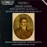 DANZI - Bläser der Berl - Trois quintettes op.68