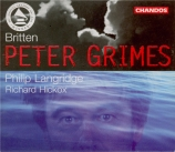 BRITTEN - Hickox - Peter Grimes, opéra op.33