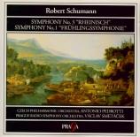 SCHUMANN - Pedrotti - Symphonie n°3 pour orchestre en mi bémol majeur op