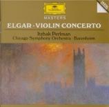 ELGAR - Perlman - Concerto pour violon en si mineur op.61