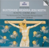 BUXTEHUDE - Gardiner - Membra Jesu Nostri, cycle de sept cantates BuxWV