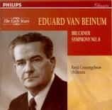 BRUCKNER - Van Beinum - Symphonie n°8 en ut mineur WAB 108