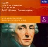 HAYDN - Schiff - Trio pour clavier, flûte (ou violon) et violoncelle n°3