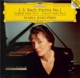 BACH - Pires - Partita pour claviern°1 en si bémol majeur BWV.825