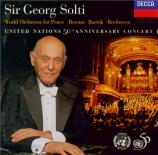 Concert pour les 50 ans de l'O.N.U.