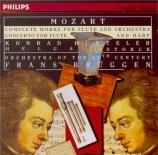 MOZART - Hünteler - Concerto pour flûte et orchestre n°1 en sol majeur K