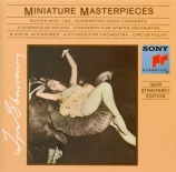 Miniatures masterpieces
