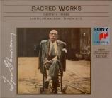 STRAVINSKY - Stravinsky - Messe, pour chœur mixte et deux quintettes à v