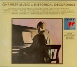 Chamber music and historical recordings