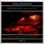 CHOSTAKOVITCH - Taneyev Quartet - Quatuor à cordes n°5 op.92