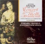 VIVALDI - Spinosi - Concerto pour deux violons 'intromba', deux flûtes