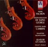 CAMBINI - Les Adieux - Quatuor n°2 du dix-huitième Livre