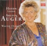 HAYDN - Auger - Die Verlassene, pour voix et piano Hob.XXVIa:5