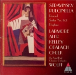 STRAVINSKY - Wolff - Pulcinella : ballet