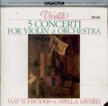 VIVALDI - Schröder - Concerto pour violon, cordes et b.c. en mi majeur R