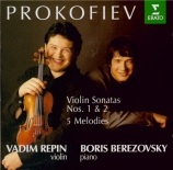PROKOFIEV - Repin - Sonate pour violon et piano n°1 en fa mineur op.80
