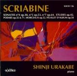 SCRIABINE - Urakabe - Sonate pour piano n°4 op.30