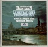 HEINICHEN - Goebel - Lamentationes Jeremiae prophetae