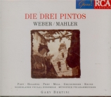 WEBER - Bertini - Drei Pintos (Die) (Complete par G. Mahler)