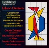 DENISOV - Otaka - Concerto pour saxophone alto et orchestre