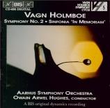 HOLMBOE - Hughes - Symphonie n°2 op.15