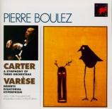 VARESE - Boulez - Déserts
