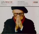 BACH - Ericson - Oratorio de Noël(Weihnachts-Oratorium), pour solistes