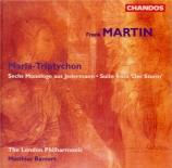 MARTIN - Bamert - Der Sturm (La tempête), suite pour baryton et orchestr