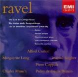 Les six dernières compositions (1928-34)