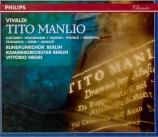 VIVALDI - Negri - Tito Manlio, opéra en 3 actes RV.738 (première version