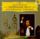 BRUCKNER - Abbado - Symphonie n°5 en si bémol majeur WAB 105