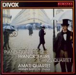 FRANCK - Amati Quartet - Quintette avec piano