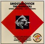 CHOSTAKOVITCH - Chistiakov - Les joueurs, op.63b