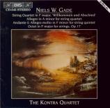 GADE - Kontra Quartet - Andante et allegro pour quatuor à cordes en fa m