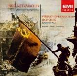 HARTMANN - Metzmacher - Symphonie n°1 'Versuch eines Requiems'