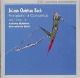 BACH - Halstead - Concertos pour clavier (6) op.1