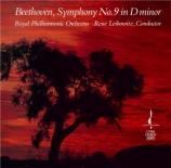 BEETHOVEN - Leibowitz - Symphonie n°9 op.125 'Ode à la joie'