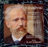 TCHAIKOVSKY - Lombard - Symphonie n°4 en fa mineur op.36