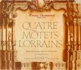 DESMAREST - Jackson - Quatre motets lorrains